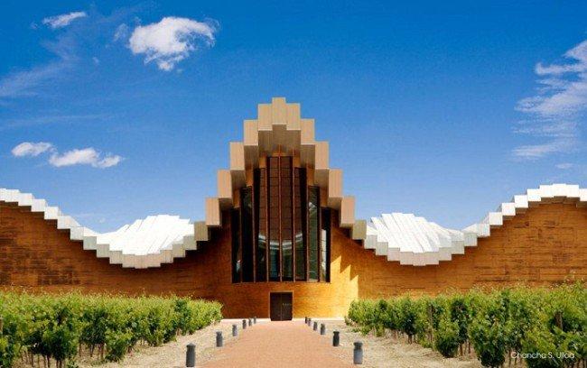 10. Design winery (Espanha)
