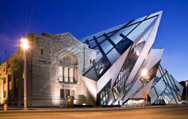 17. The Royal Ontario Museum (Toronto, Canadá)