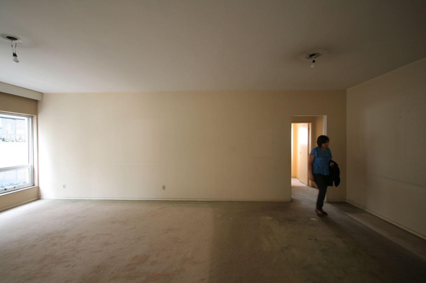 Um antigo apartamento em Higienópolis...
