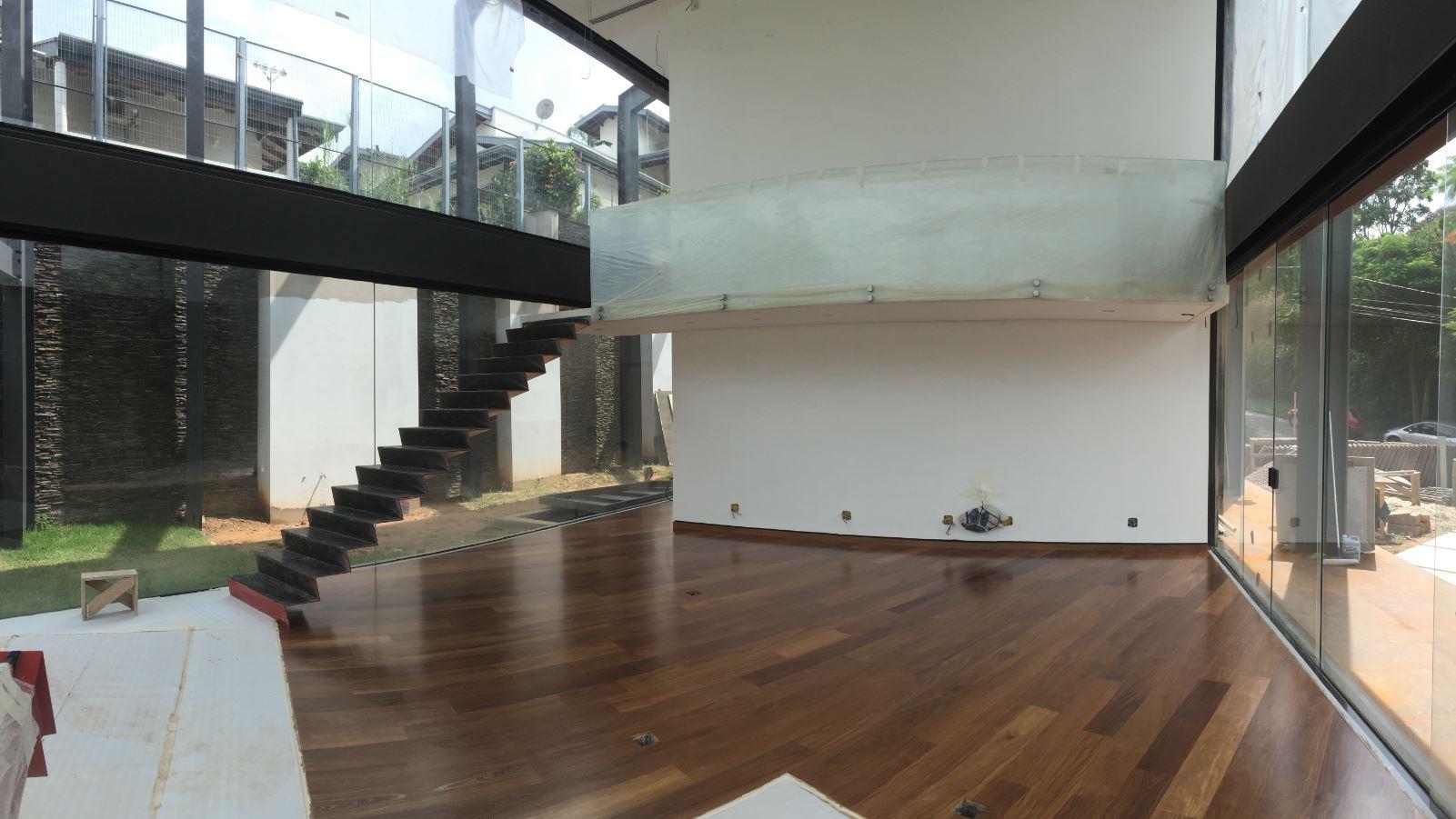 ... o dry wall traz o mesmo acabamento e conforto visual.