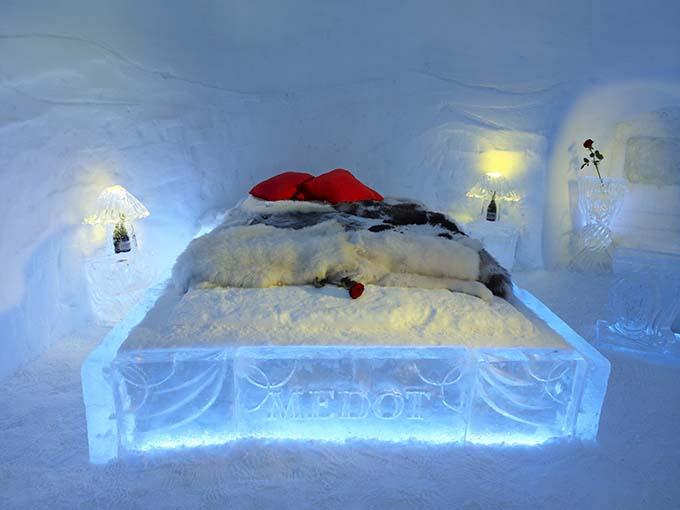 Iglu romântico @ Eskimo Village