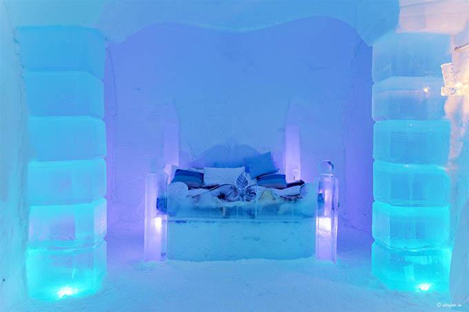 Sorrisniva Ice Hotel Valhalla Suite fotos por Vidar Hoel