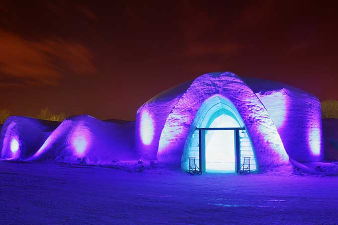 Snow Village Montreal Canada @ Matthieu Bichat
