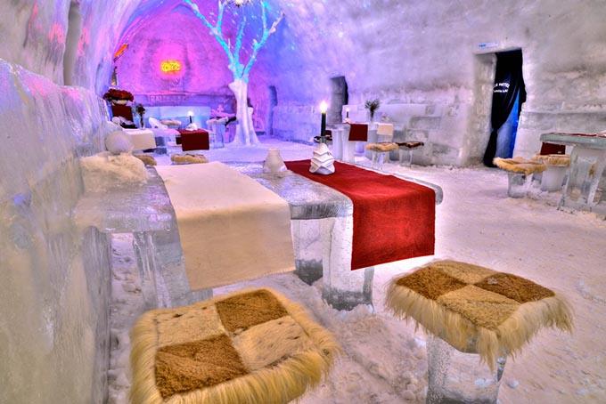 Hotel de Gelo Romênia @ Chris Burton