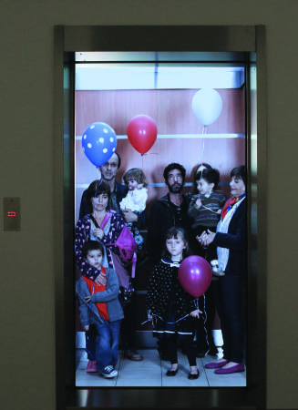 O argentino Leandro Elrich se inspirou no elevador | Foto: Divulgação