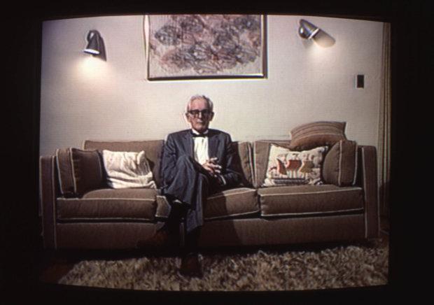 Reverse Television, experimento criado por Bill Viola | Foto: Divulgação