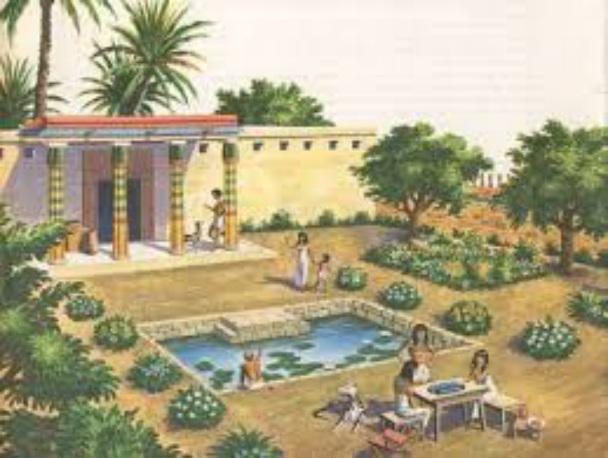 jardim egipcio