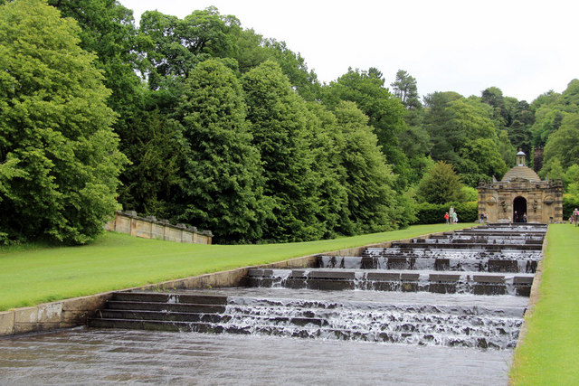 Chatsworth cascade