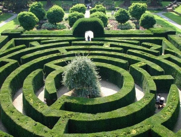 Chatsworth labyrinth